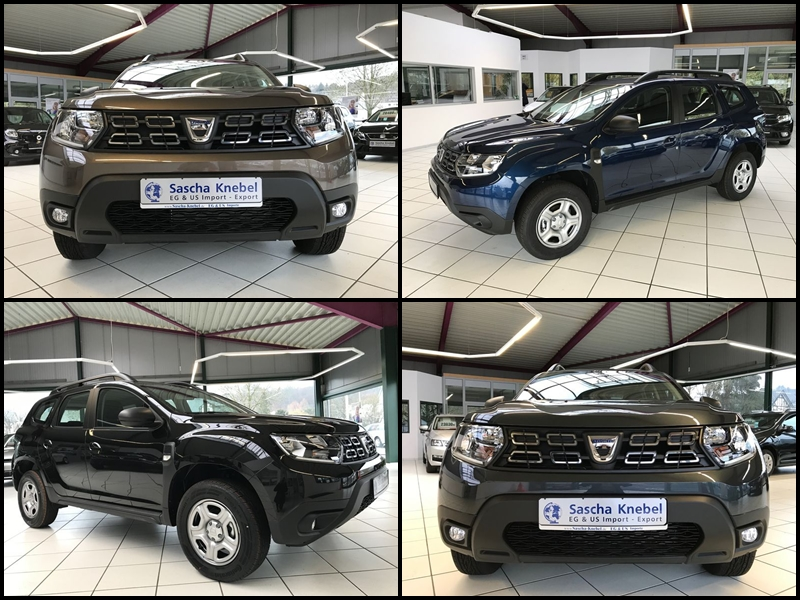 Collage Dacia Duster Lager
